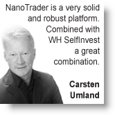 Simplified trading by Carsten Umland.
